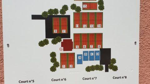 Inauguration des nouveaux terrains du Tennis Club Saint Cyrien