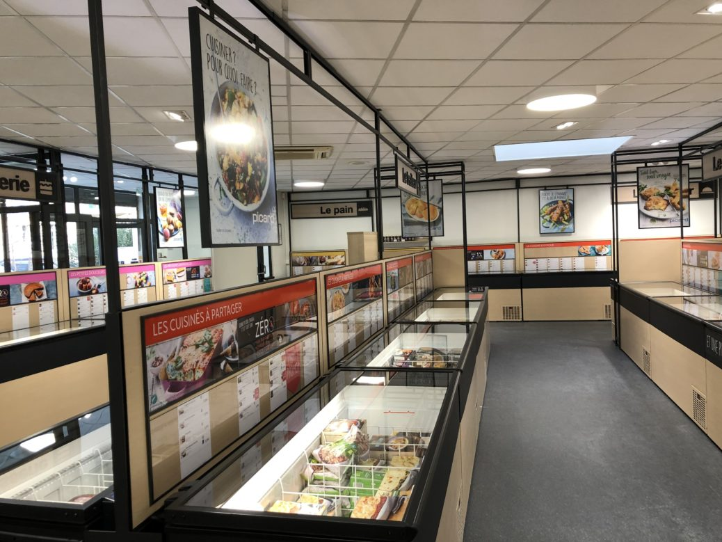 Rénovation commerce courant fort marseille