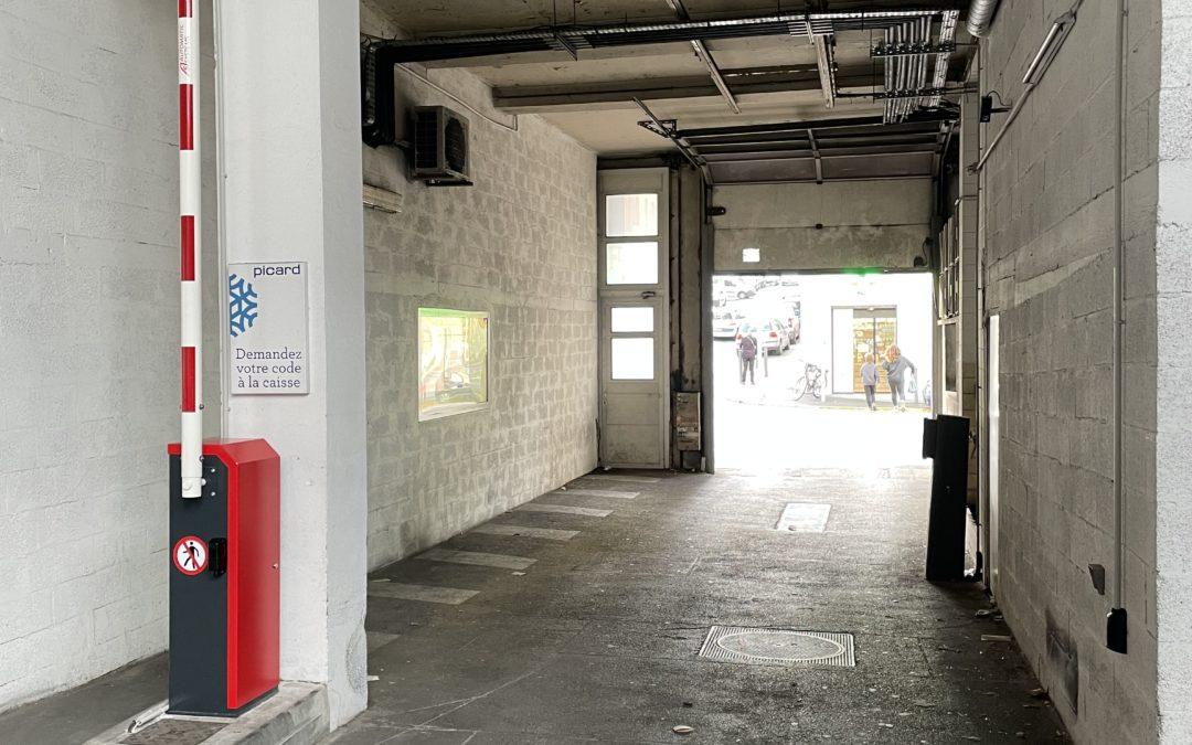 Remplacement barrière de parking automatique